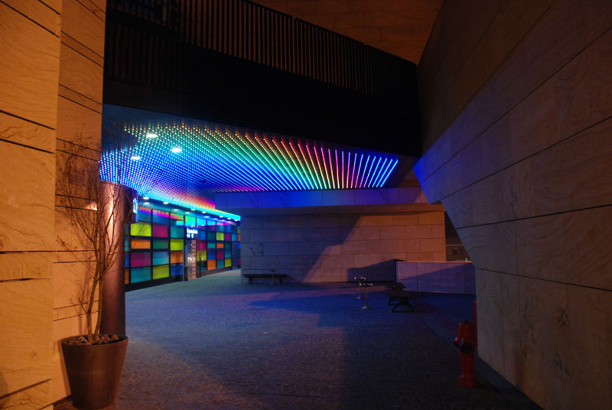 Cannata&Partners Lighting Design Communication · Illuminazione esterna Casinò di Campione d ...