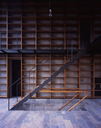 Private indoor stairs · a collection curated by divisare