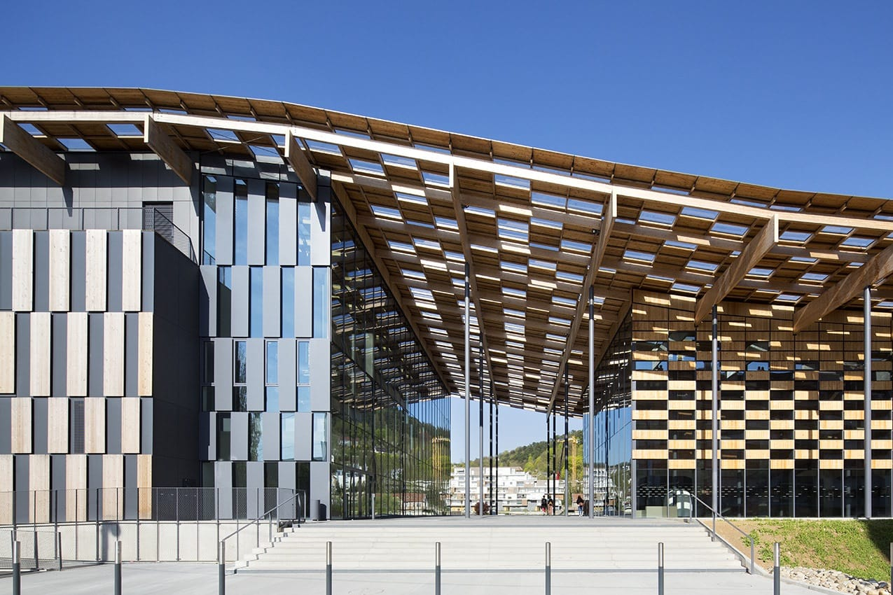 Kengo kuma associates michel denanc besan on art center and cit de - Besancon cite des arts ...