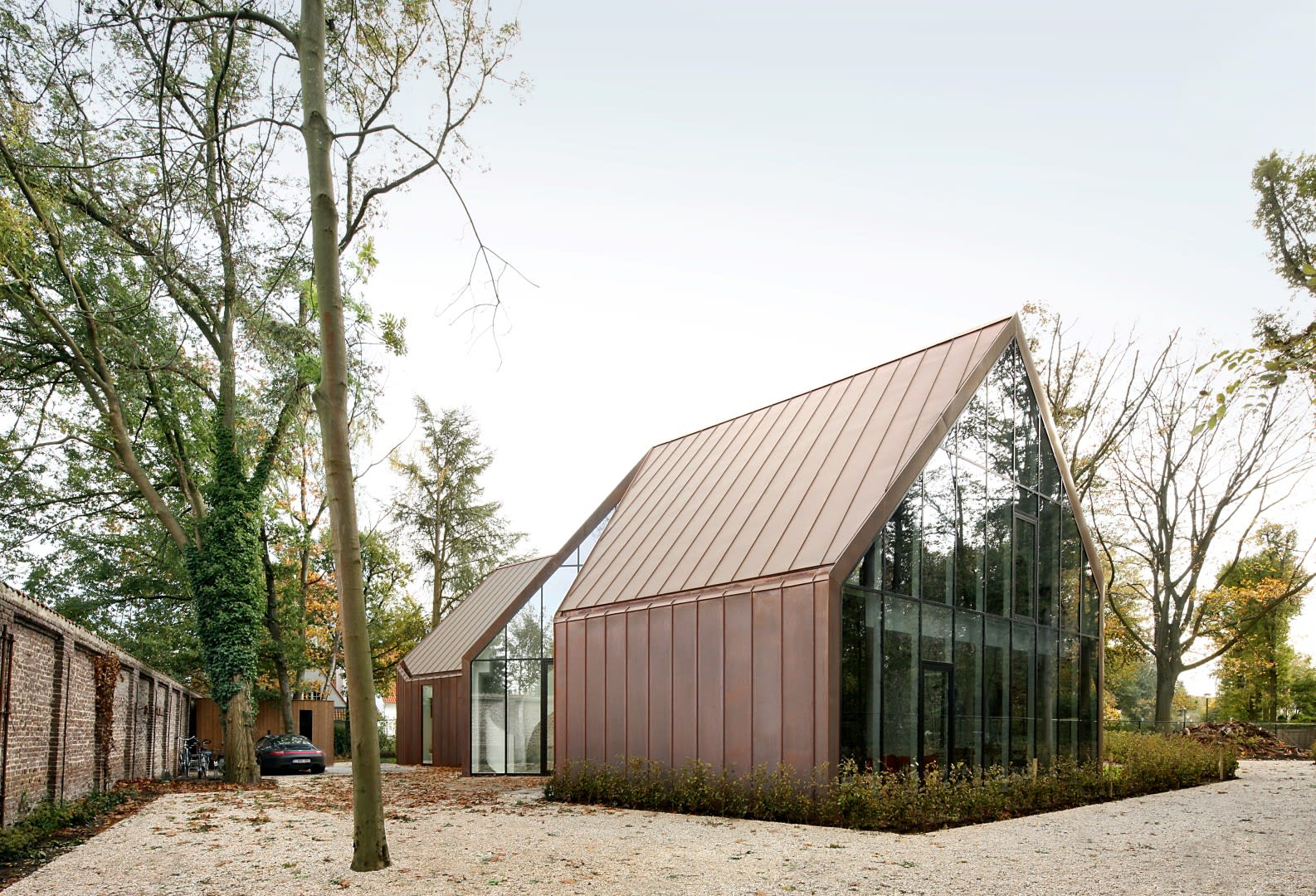 Graux baeyens architects filip dujardin house vdv for Dujardin automobile