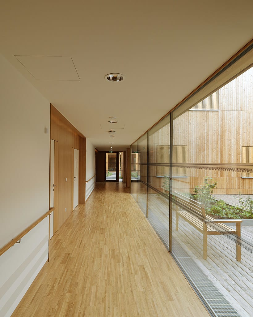 Dietger wissounig architekten residential care home Nursing home architecture